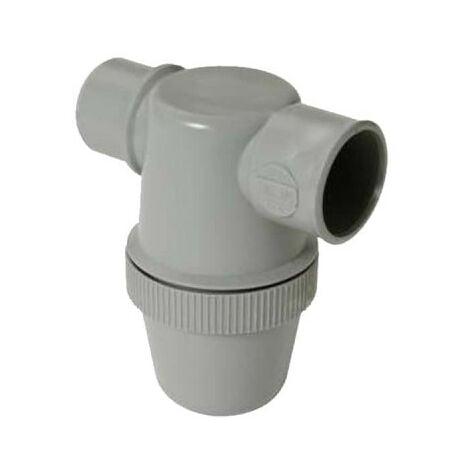 Siphon de lavabo NICOLL - Mâle-Femelle - à entrée horizontale - 40mm - 32212 N