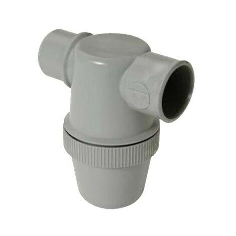 Siphon de lavabo NICOLL - Mâle-Femelle - à entrée horizontale - 50mm - 32213 P