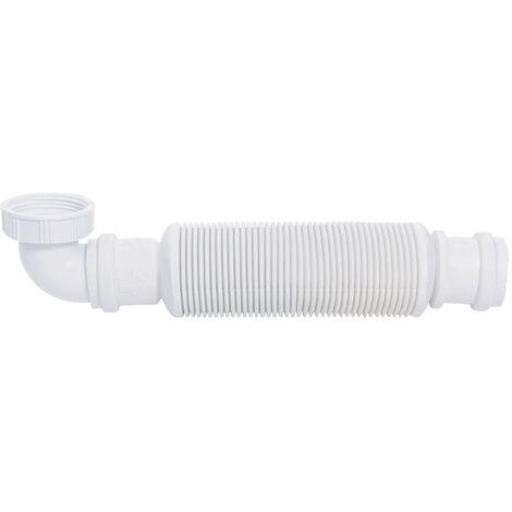 """Siphon de lavabo souple à membrane - Senzo siphon sec 1""""1/4 Ø32 mm - Wirquin - 31560002"""