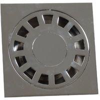 Siphon de sol en acier inoxydable pour salle de bain WC balcon