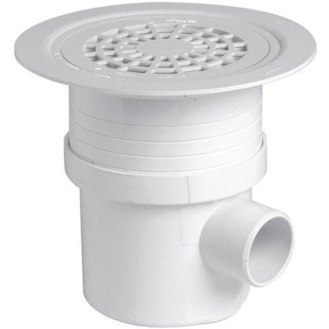 Siphon de sol PVC Blanc Sitar