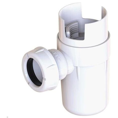 Siphon déflecteur NF pour groupe de sécurité sortie O25 ou 32