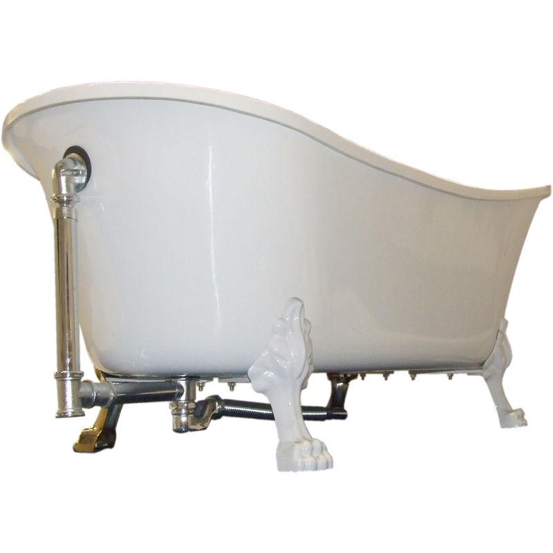 Siphon en laiton pour la baignoire sur pieds PARIS