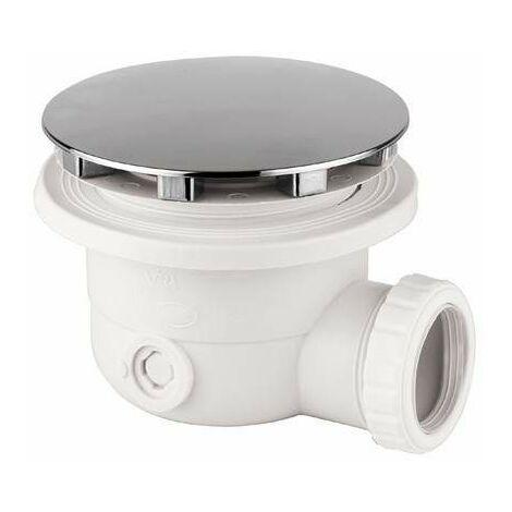 Siphon drain x receveur de douche Ø 90 diamètre Damast 12340   Chromé