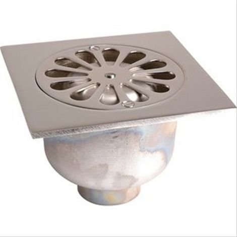 Siphon laiton grande garde d'eau 140x140