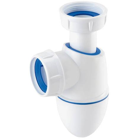 Siphon lavabo bi-matire