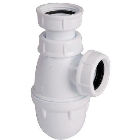 Siphon lavabo-bidet à culot
