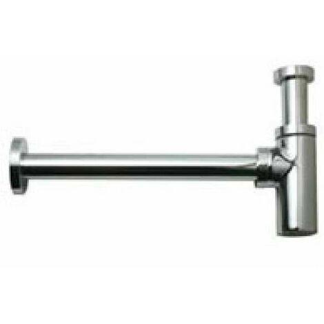 Siphon lavabo Design laiton chromé