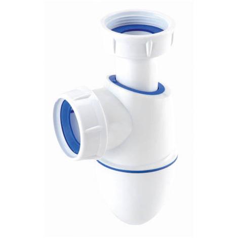 Siphon lavabo easyphon bi-injection réglable PVC