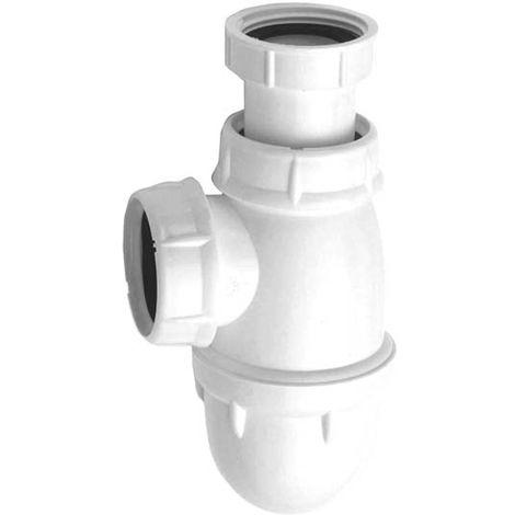 Siphon Lavabo L242 blanc tube réglable O40 N.F.