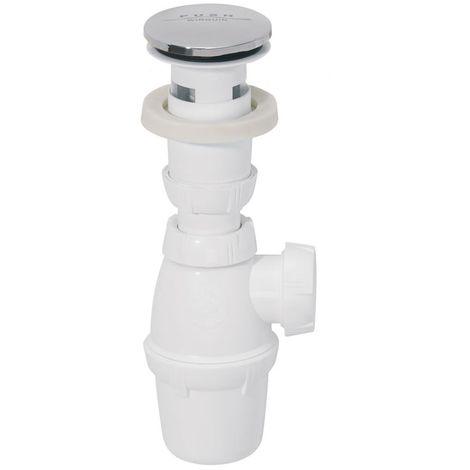 Siphon pour lavabo SP500 + bonde Quick-Clac