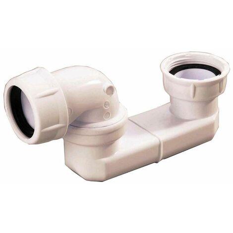 Siphon seul pour baignoire - Filetage 40x49 mm