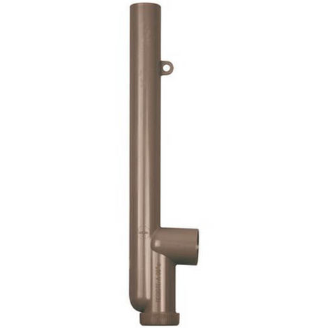 Siphon simple 40mm sortie horizontale nicoll