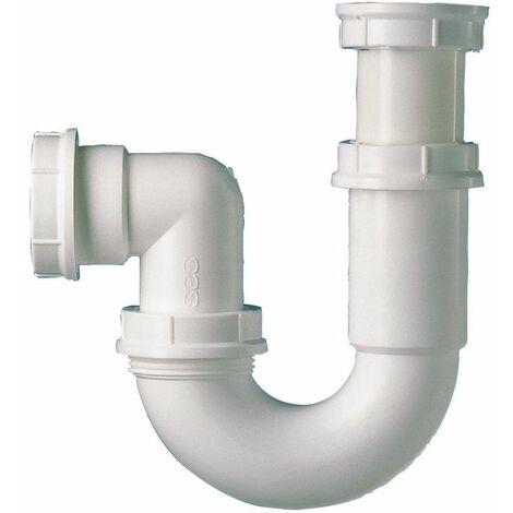 Siphon tube articulé pour évier - Sortie diamètre 40 mm