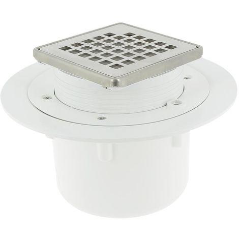 Siphon Vertical pour douche carrelée - Docia Sicax - Nicoll