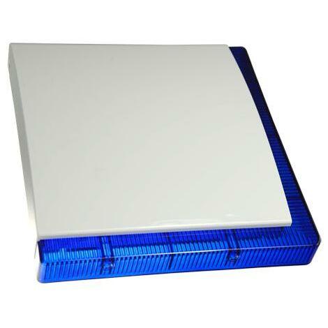 Sirena Alarma Exterior Cableada Grado3 Azul Vega-plus