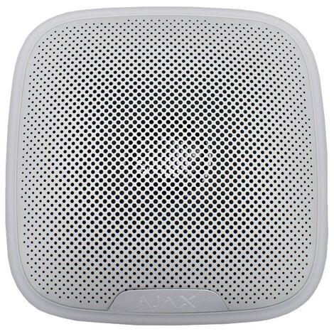 Sirena inalámbrica para exteriores AJAX Blanco AJ-STREETSIREN-W