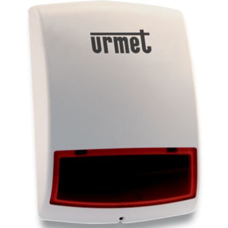 Sirena Urmet Zenón de Radio externa fuente de alimentación baterías 1051/405