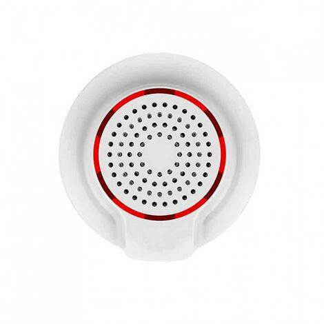 Sirena WiFi de Alta Potencia para Sensores y Alarmas vía Smartphone/APP 7hSevenOn Home