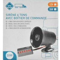 Sirene 6 tons 12V - Htc
