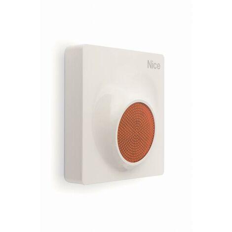 Sirène extérieure filaire LED + fonction vocale NICE - MNSC