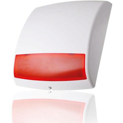 Sirène extérieure sans fil avec flash – 104 dB pour alarme maison Q-3000 - BLAUPUNKT - 573545