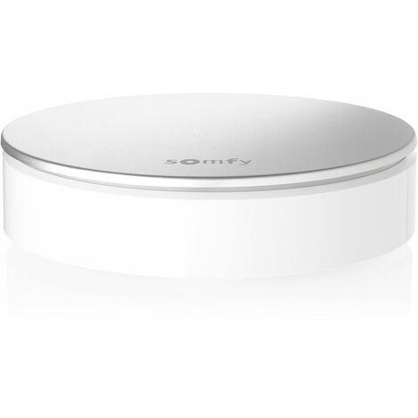 Sirène intérieure sans fil 110 dB Somfy pour alarme Somfy Protect - 2401494 - Blanc