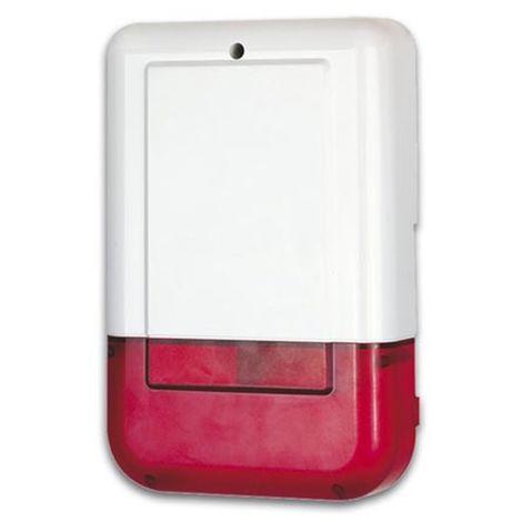 Sirene Strobo Exterieure Pour Systeme D'Alarme Domestique - Avec Batterie De Secours