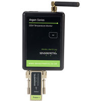 Siretta ARGON 100 GSM Remote Temperature Monitor with SMS, Email and Phone