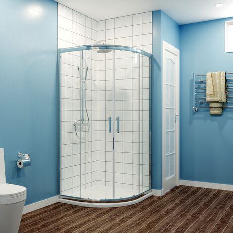 SIRHONA Cabine de douche Quadrant Porte de douche coulissante