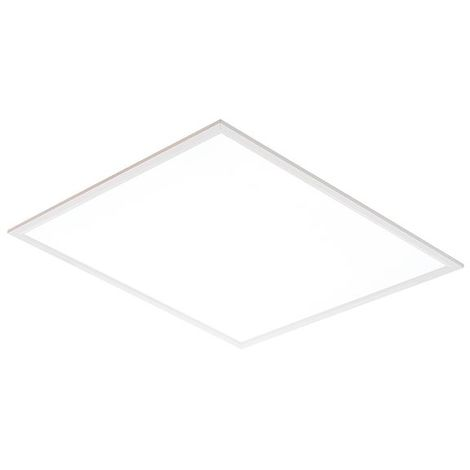 Sirio 40W Daylight White Square Recessed Light - Gloss White