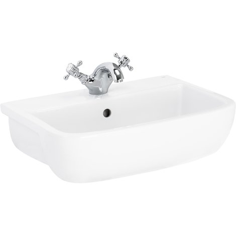 Sirus 520mm Semi Recess 1th Basin