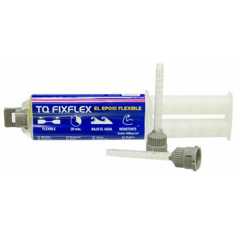 Sistema adhesivo epoxi bicomponente rápido, flexible y capaz de curar bajo el agua, Fixflex TECNOL BASICS
