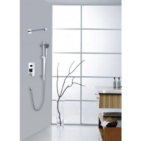 Sistema combinado de columna de ducha empotrada XX1520C