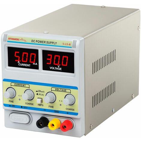 Sistema de alimentación - 0-30 V , 0-5A DC