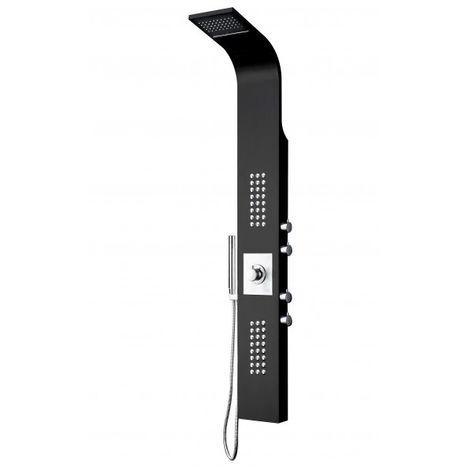 Sistema de ducha, columna de ducha termostática SEDAL 8815, negro