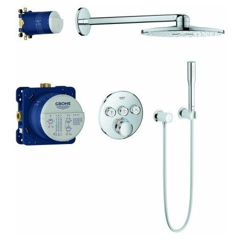 Sistema de ducha empotrada Grohe Grohtherm SmartControl con ducha de agua caliente Rainshower 310 SmartActive - FG-34705000