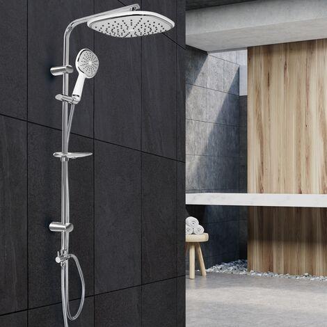Sistema de ducha grifo barra de lluvia con material de montaje boquillas antical