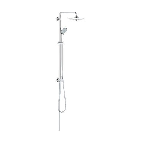 Sistema de ducha Grohe Euphoria 260 con conversión, montaje en pared, estabilizador de caudal GROHE EcoJoy - 27421002