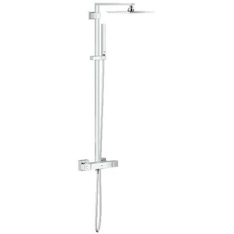 Sistema de ducha Grohe Euphoria Cube con cabezal de ducha metálico Allure 230 - 26087000
