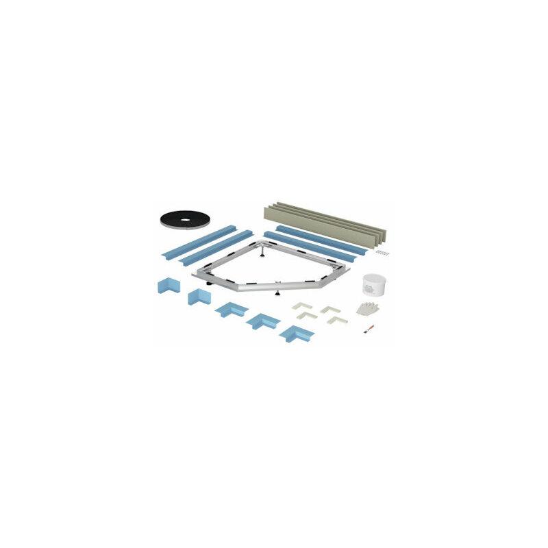Sistema de instalación Floor Caro a ras del suelo, 90 x 90 cm - B51-1051 - Bette