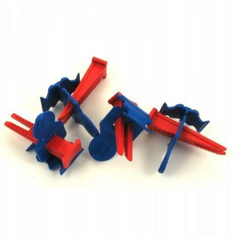 Sistema de nivelación de azulejos clips + cuñas 50