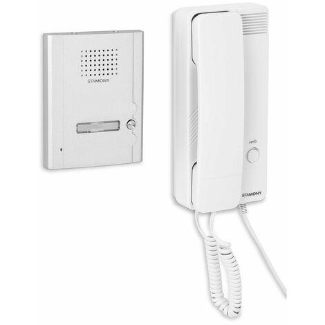 Sistema De Porterillo Automático Portero Con 1 Telefonillo Empotrado En Pared