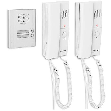 Sistema De Porterillo Automático Portero Con 2 Telefonillos Montaje A Superficie
