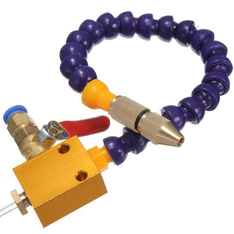 Sistema de pulverización de lubricación con refrigerante de niebla Pr 8mm Pipe CNC Torno Fresadora