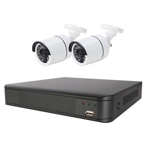 Sistema De Vigilancia CCTV Full HD 2 CAM