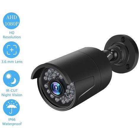 Sistema de Vigilancia, Negro 1080P 2.0MP camara analogica de camaras de seguridad