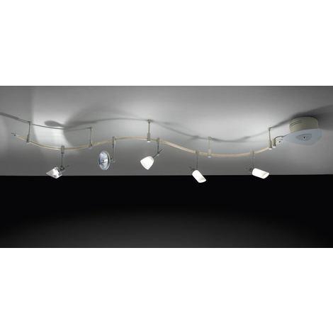 Sistema Illuminazione A Binario Soffitto Perenz 5162