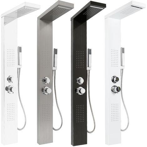 Sistema Pannello Doccia in acciaio inox colonna doccia doccia a pioggia massaggio Doccia miscelatore rubinetto