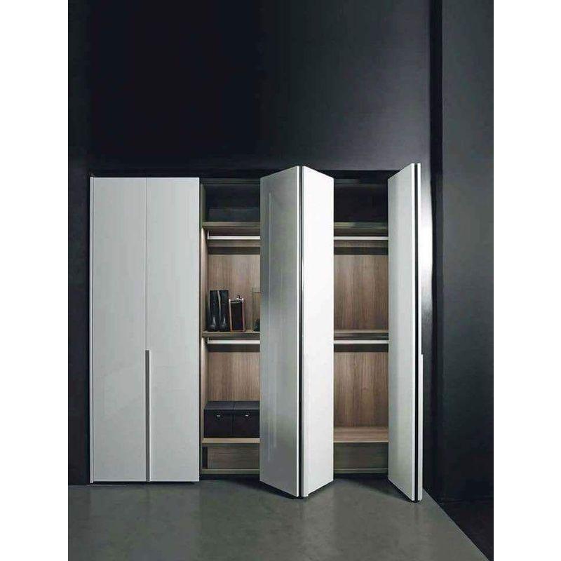 Porta Scorrevole 3 Ante Sovrapposte.Sistema Scorrevole No Soft Guarnitura Completa Per Porte